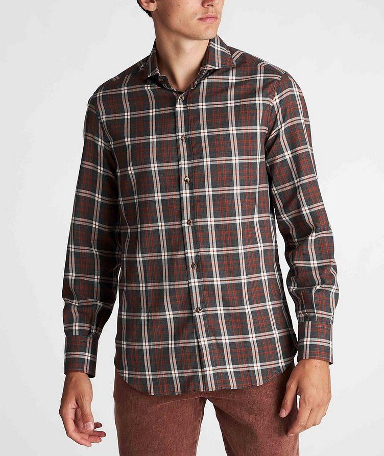 Plaid Cotton Shirt image 1