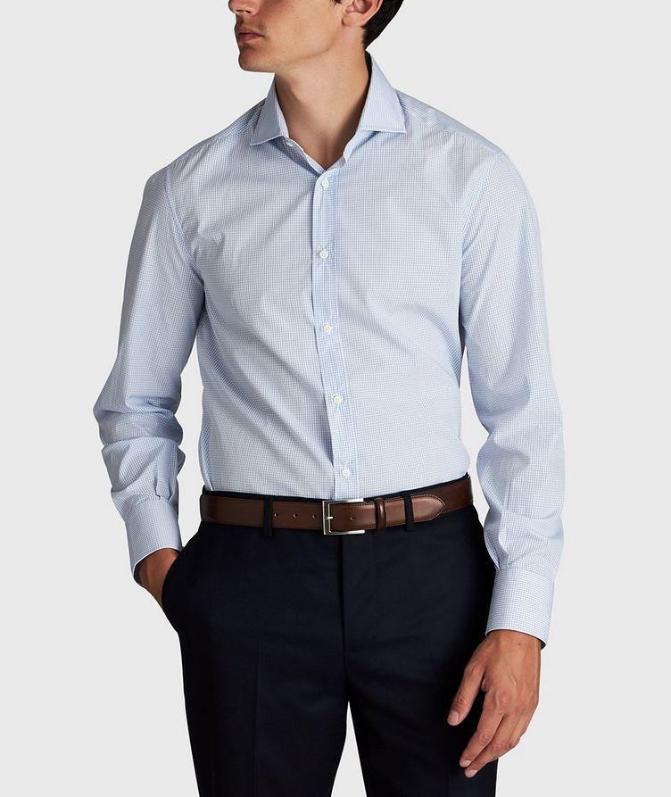 Micro-Grid Cotton Shirt image 1