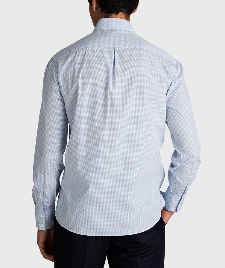 Micro-Grid Cotton Shirt image 2