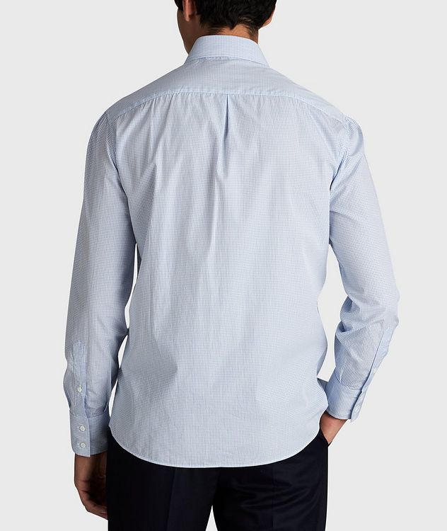 Micro-Grid Cotton Shirt picture 3