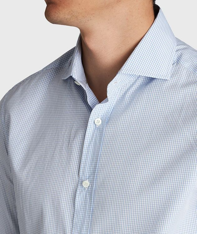 Micro-Grid Cotton Shirt picture 4