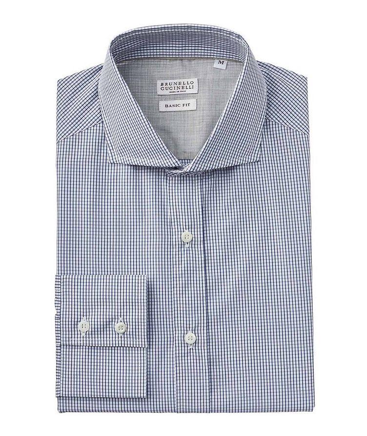 Micro-Grid Cotton Shirt image 0