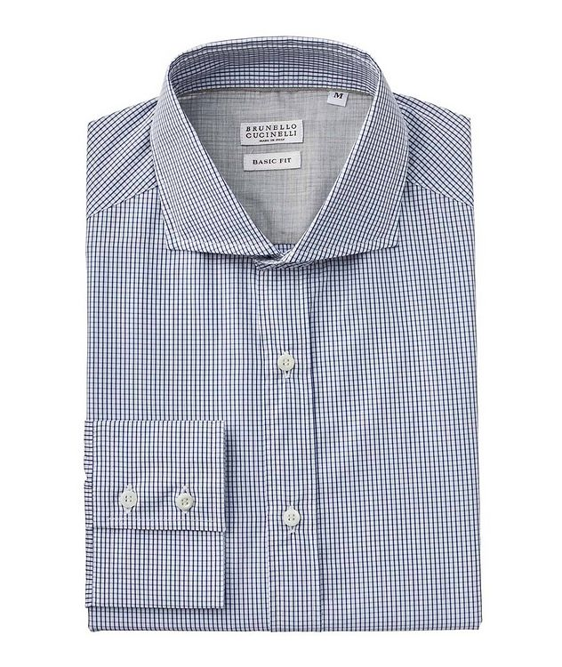 Micro-Grid Cotton Shirt picture 1