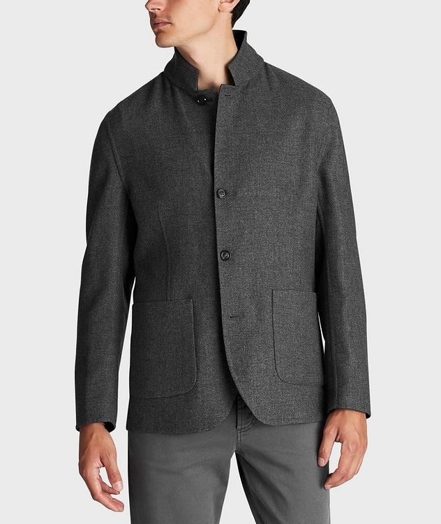 Reversible Cashmere-Silk Sports Jacket picture 2