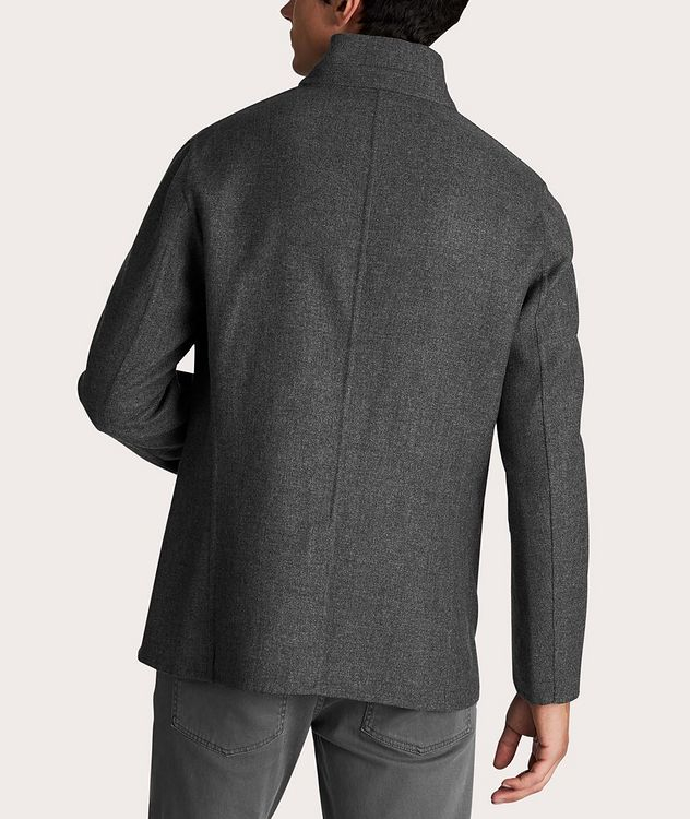 Reversible Cashmere-Silk Sports Jacket picture 3