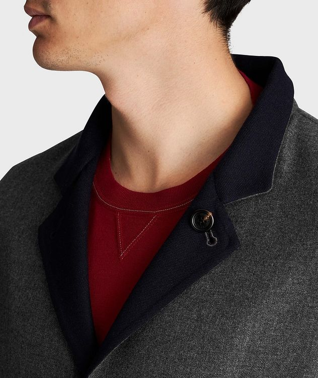 Reversible Cashmere-Silk Sports Jacket picture 4