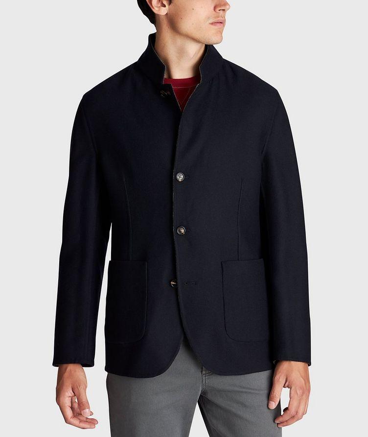 Reversible Cashmere-Silk Sports Jacket image 4