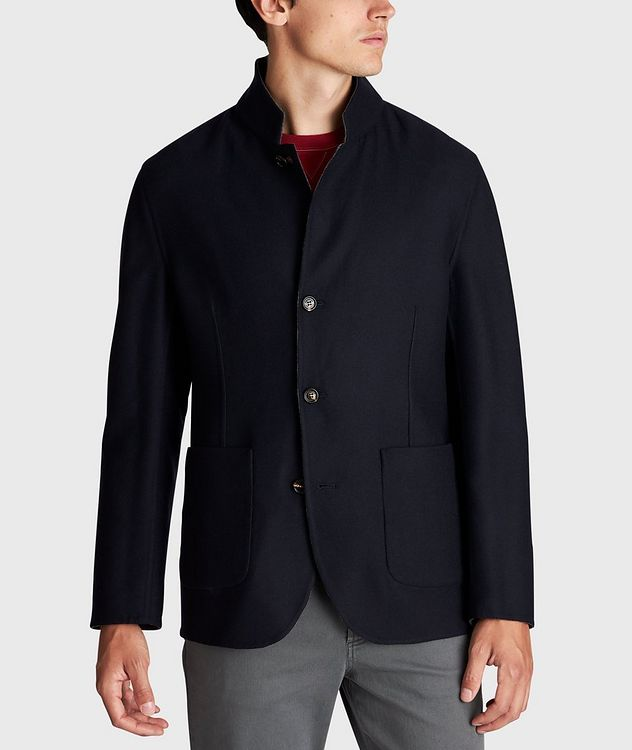Reversible Cashmere-Silk Sports Jacket picture 5
