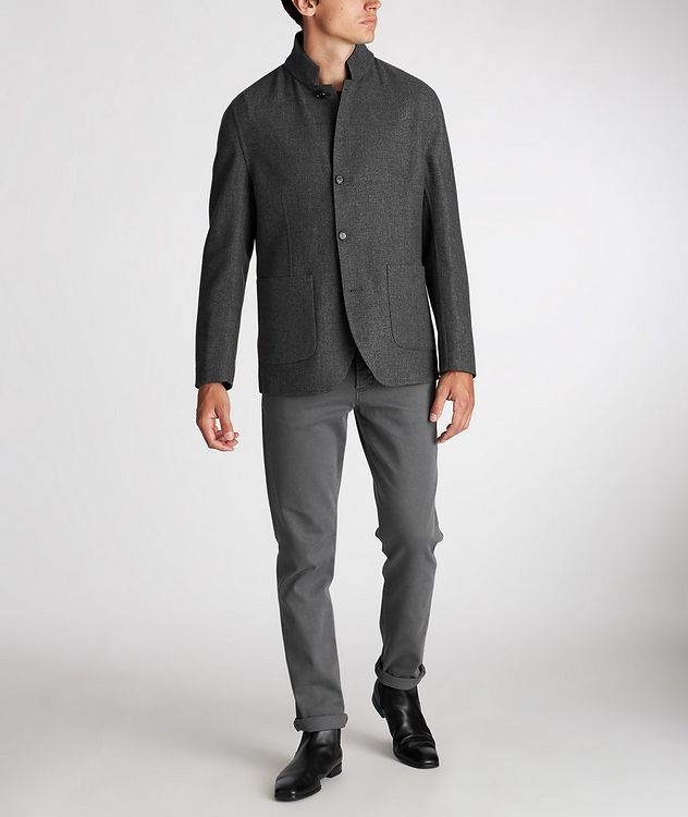 Reversible Cashmere-Silk Sports Jacket picture 6