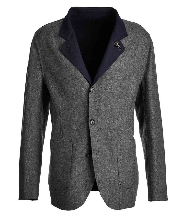 Reversible Cashmere-Silk Sports Jacket image 0