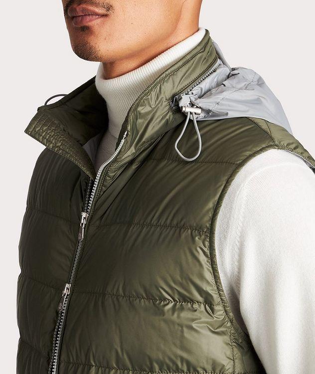 Water-Repellent Down Vest picture 4