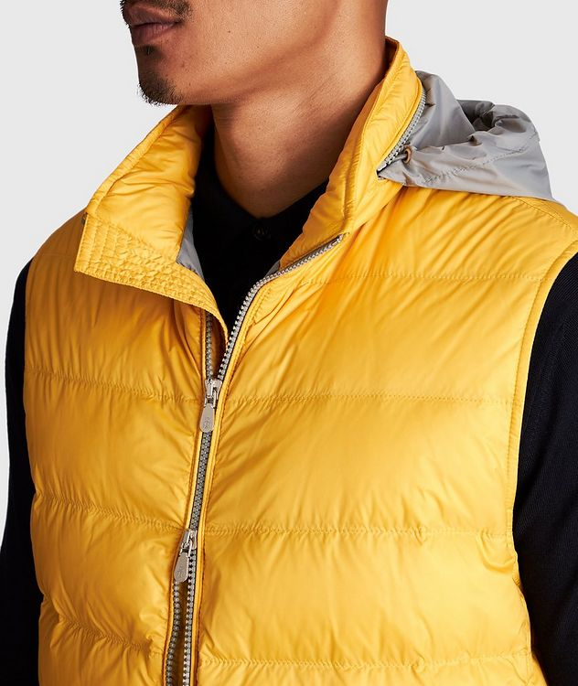 Water-Repellent Down Vest picture 4