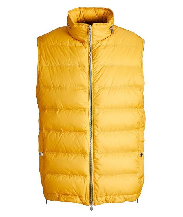 Water-Repellent Down Vest picture 1