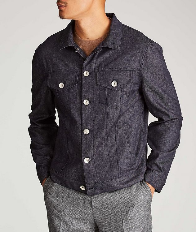Chambray Shirt Jacket picture 2