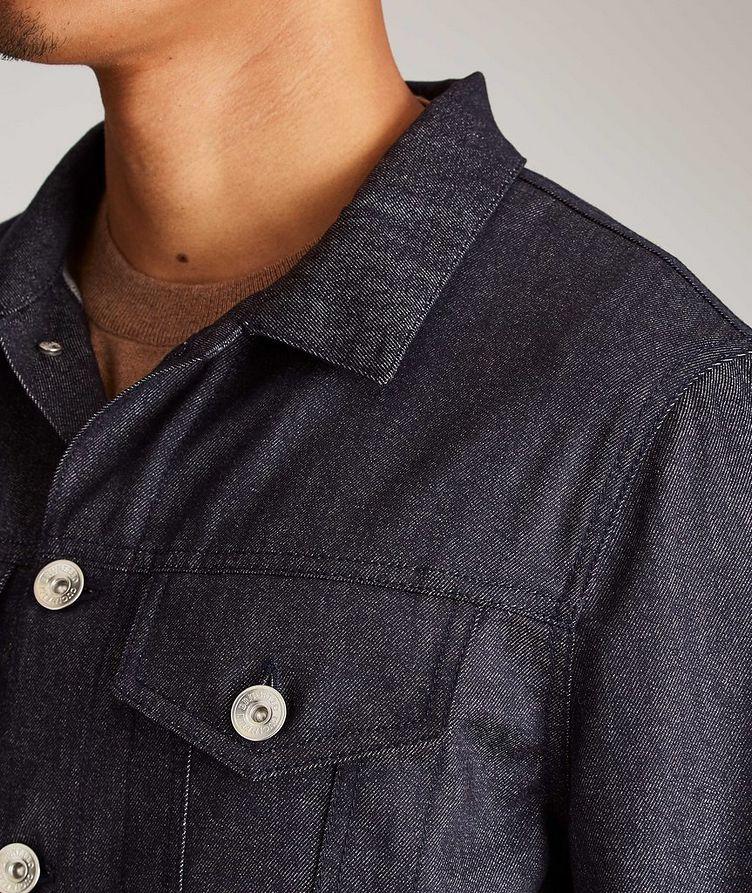 Chambray Shirt Jacket image 3