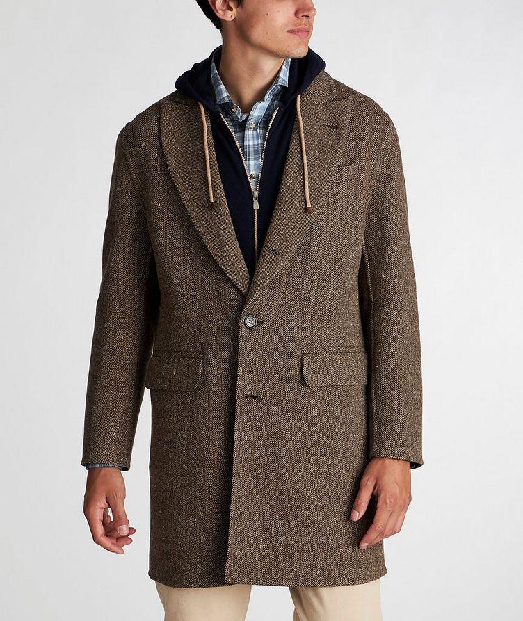 Herringbone Wool-Cashmere Overcoat image 1