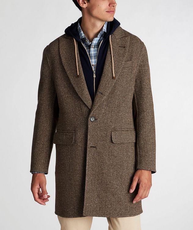 Herringbone Wool-Cashmere Overcoat picture 2