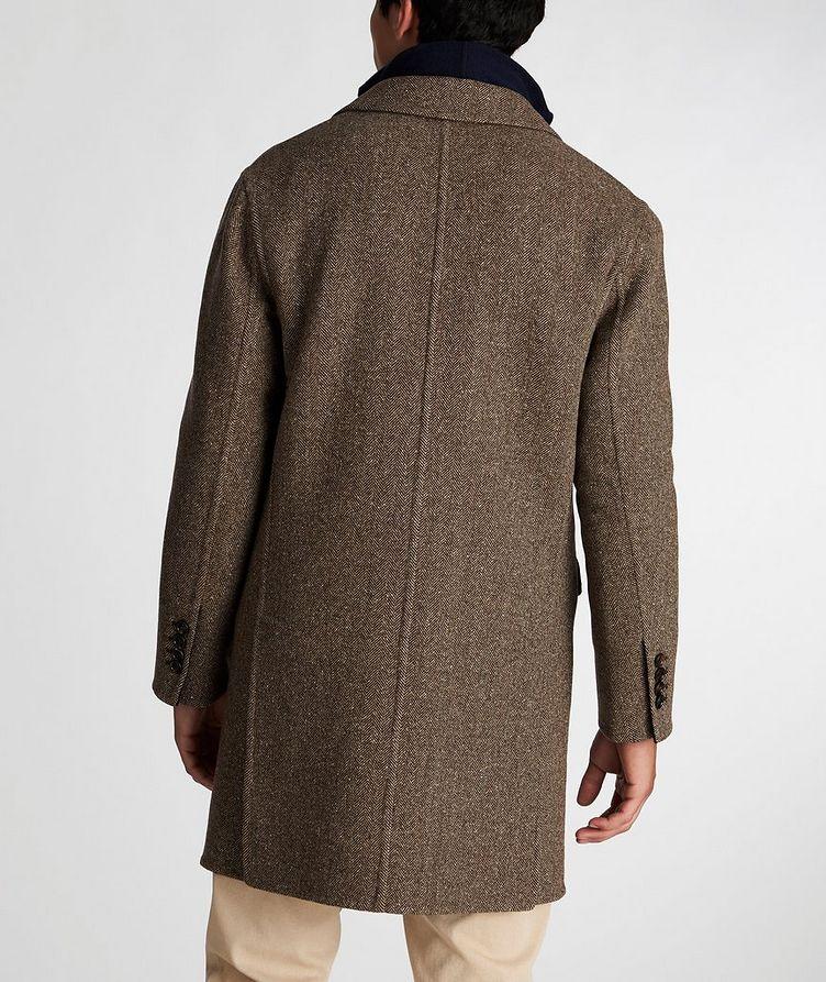 Herringbone Wool-Cashmere Overcoat image 2