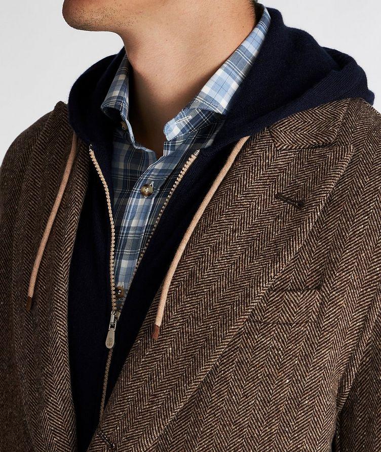 Herringbone Wool-Cashmere Overcoat image 3