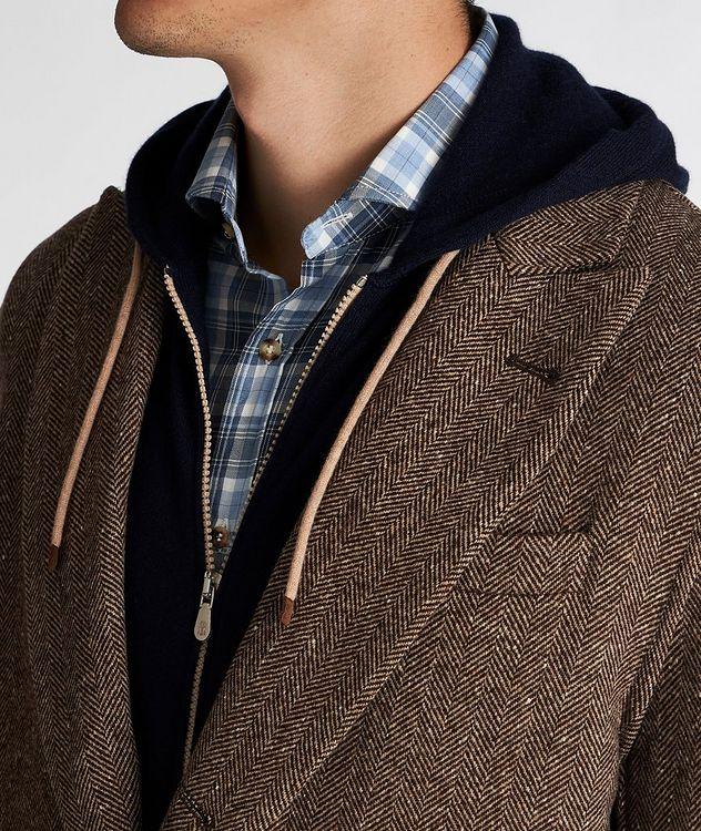 Herringbone Wool-Cashmere Overcoat picture 4