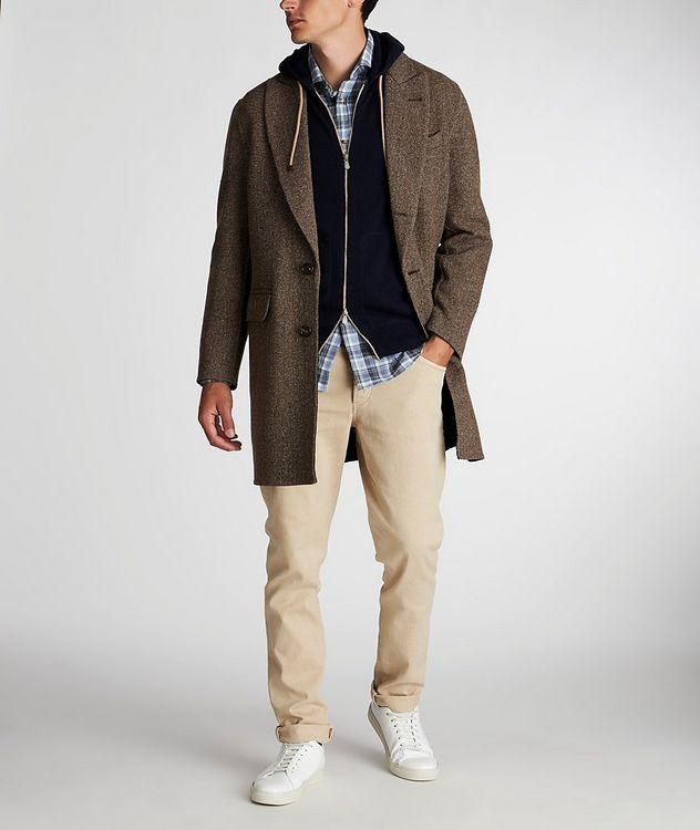 Herringbone Wool-Cashmere Overcoat picture 5