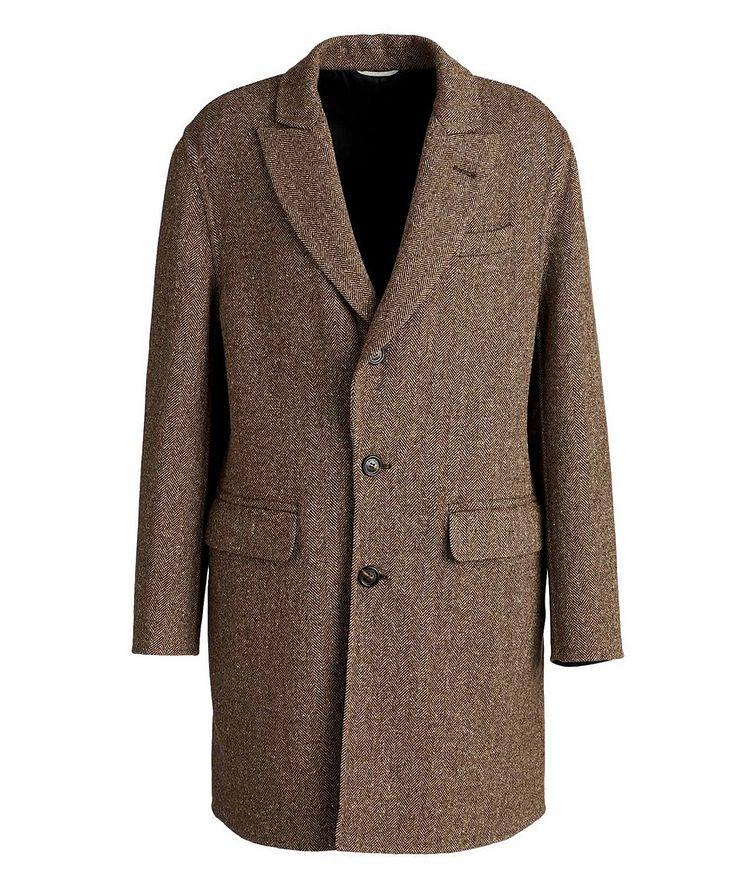 Herringbone Wool-Cashmere Overcoat image 0