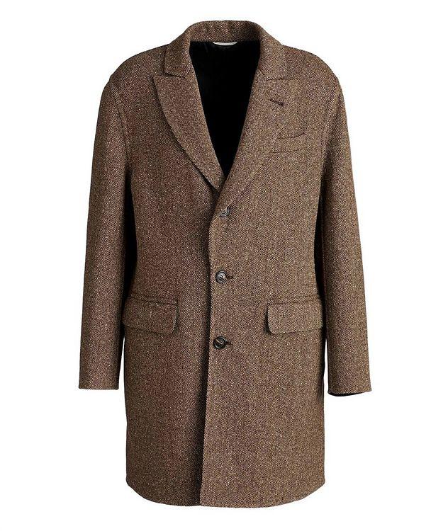 Herringbone Wool-Cashmere Overcoat picture 1
