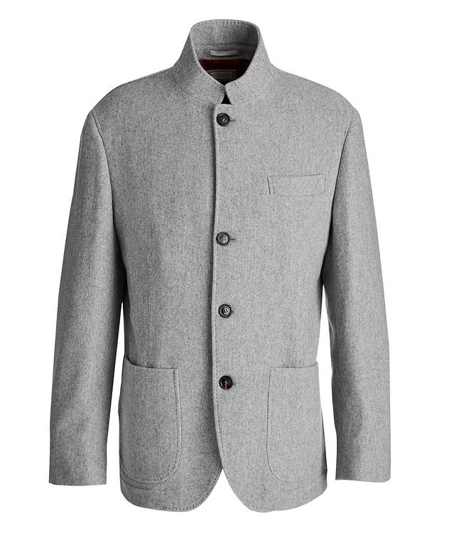 Water-Repellent Cashmere Coat picture 1