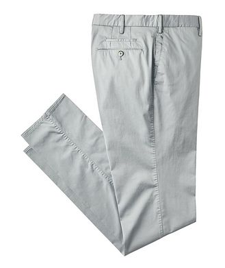 PT01 Stretch Cotton-Silk Chinos