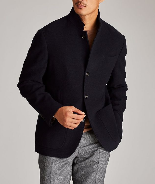 Water-Repellent Cashmere Coat picture 2