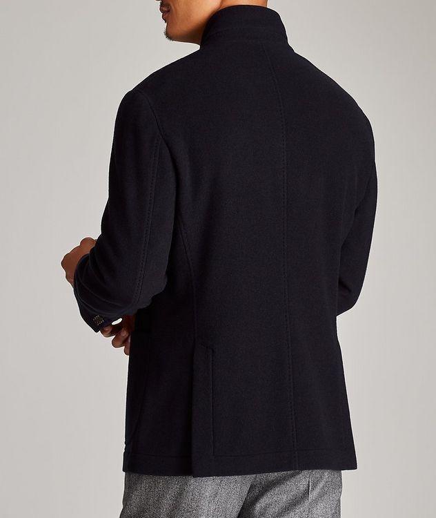 Manteau résistant à l'eau en cachemire picture 3