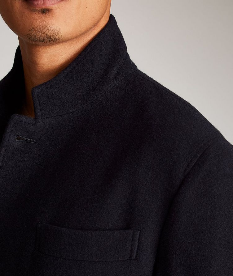 Water-Repellent Cashmere Coat image 3