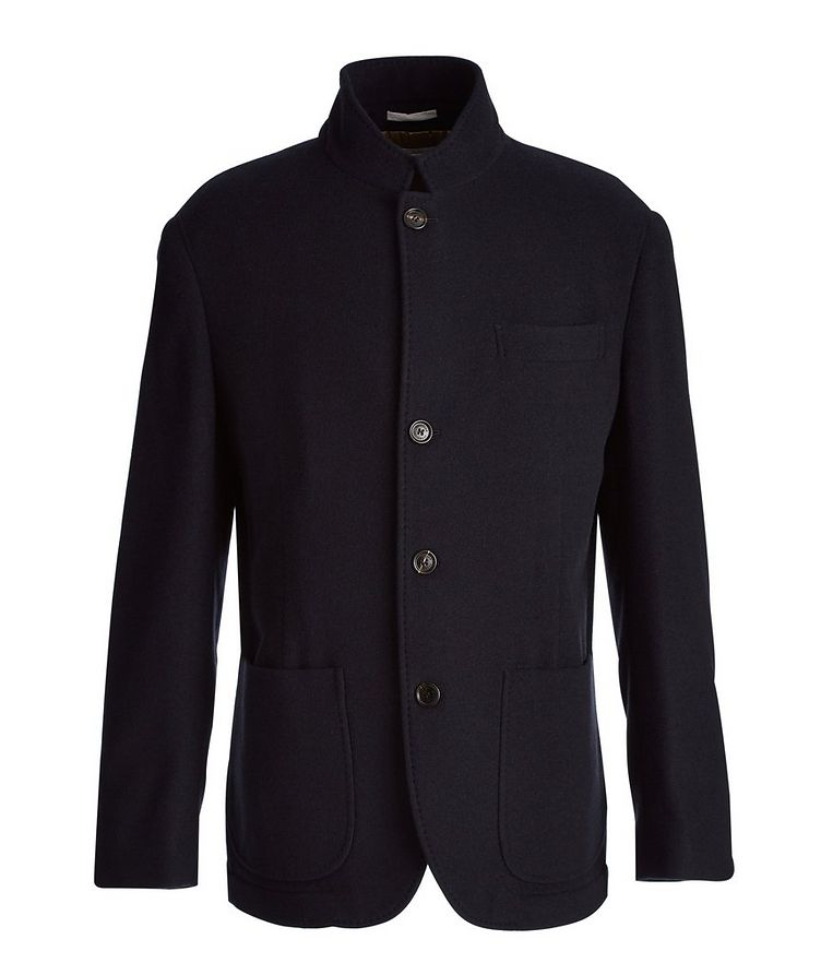 Water-Repellent Cashmere Coat image 0
