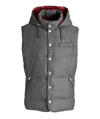 Brunello Cucinelli Waterproof Down Vest