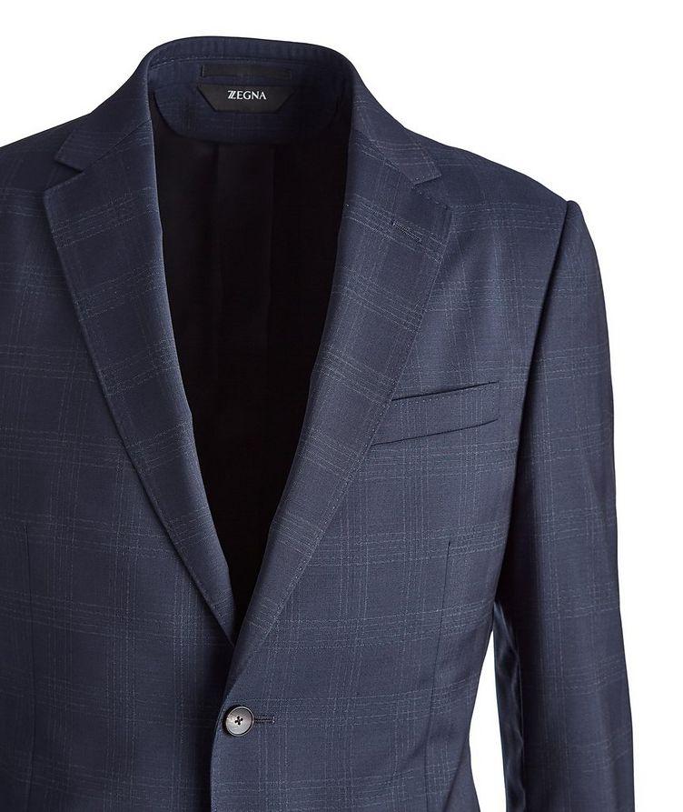 Drop 8 Overcheck Wool Suit image 1