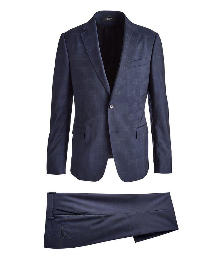 Drop 8 Overcheck Wool Suit image 0