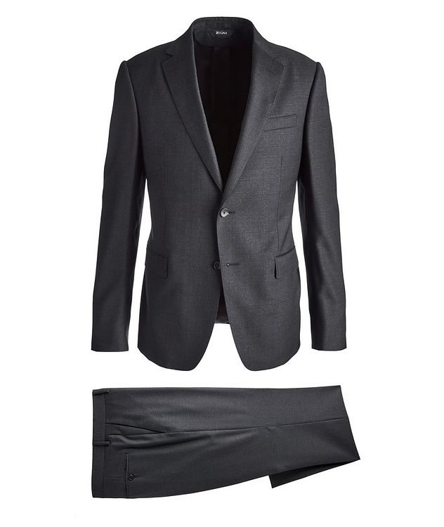 Drop 8 Glen Checked Twill Wool Suit picture 1