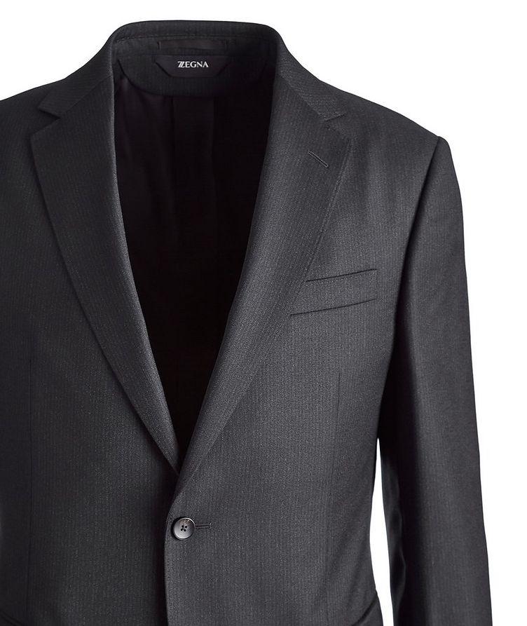Drop 8 Striped Wool Suit image 1