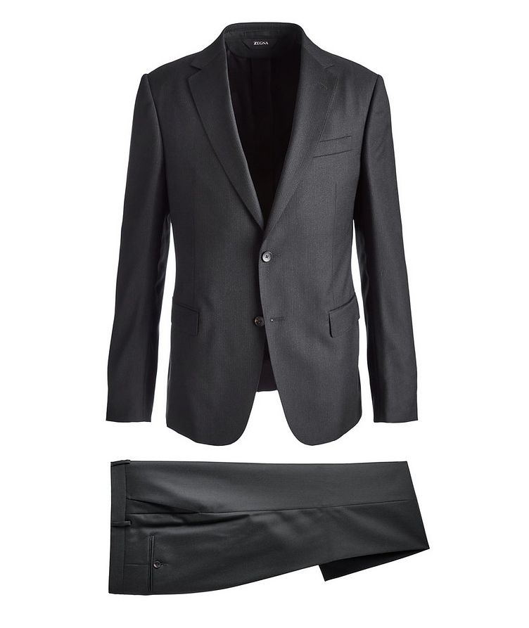 Drop 8 Striped Wool Suit image 0