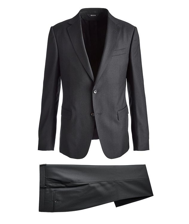 Drop 8 Striped Wool Suit picture 1