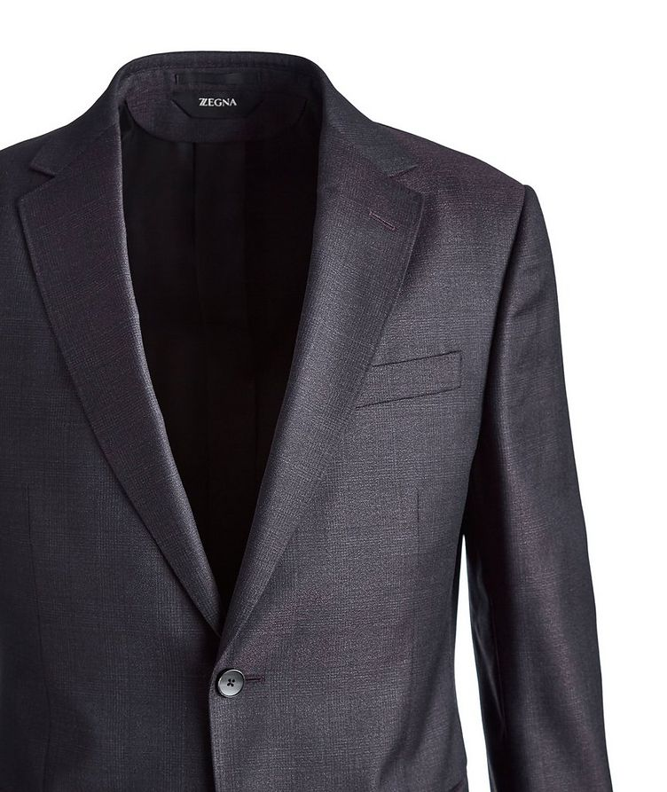 Drop 8 Glen Checked Wool Suit image 1