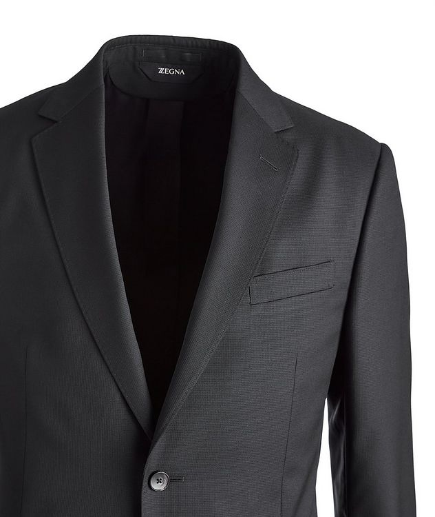 Drop 8 Neat Printed Wool Suit  picture 2
