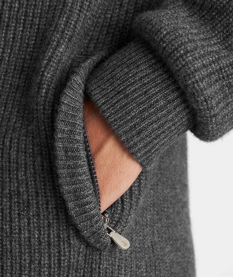 Cashmere Down-Filled Sweater image 4