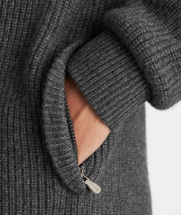 Cashmere Down-Filled Sweater picture 5