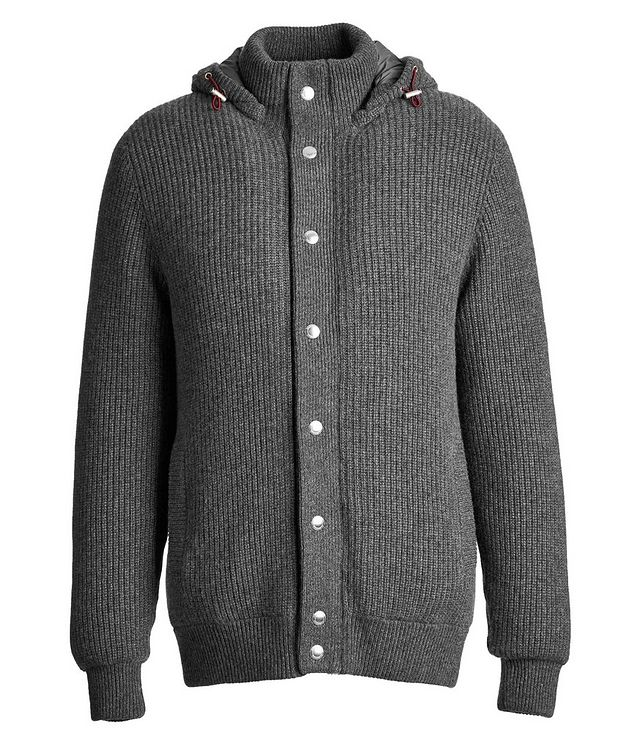 Cashmere Down-Filled Sweater picture 1