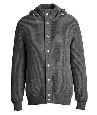 Brunello Cucinelli Cashmere Down-Filled Sweater