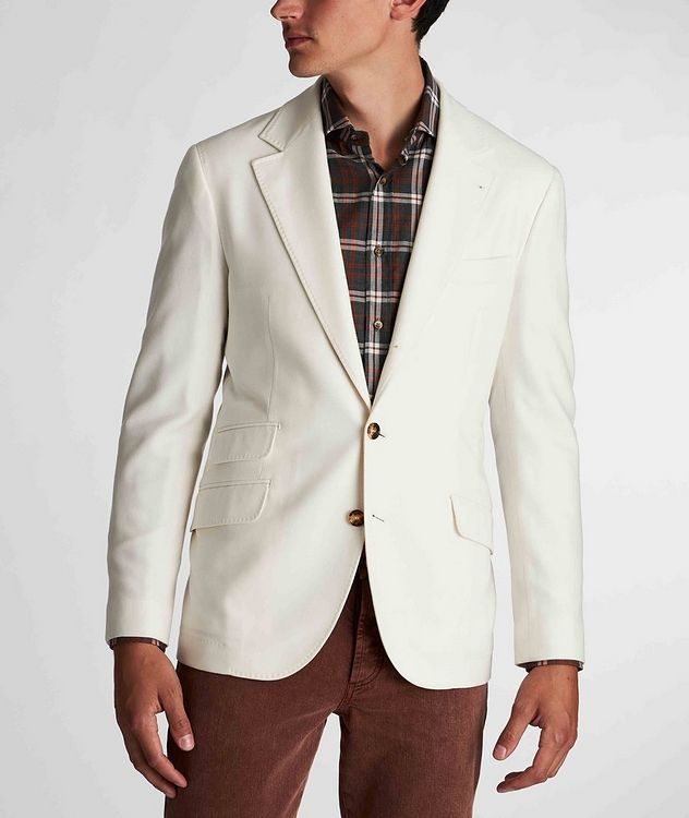 Unstructured Wool-Cashmere Sports Jacket picture 2