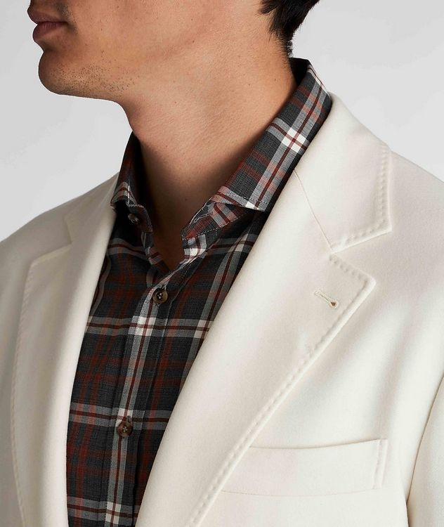 Unstructured Wool-Cashmere Sports Jacket picture 4