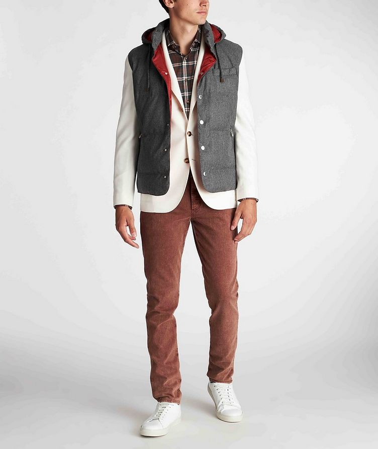 Unstructured Wool-Cashmere Sports Jacket image 4