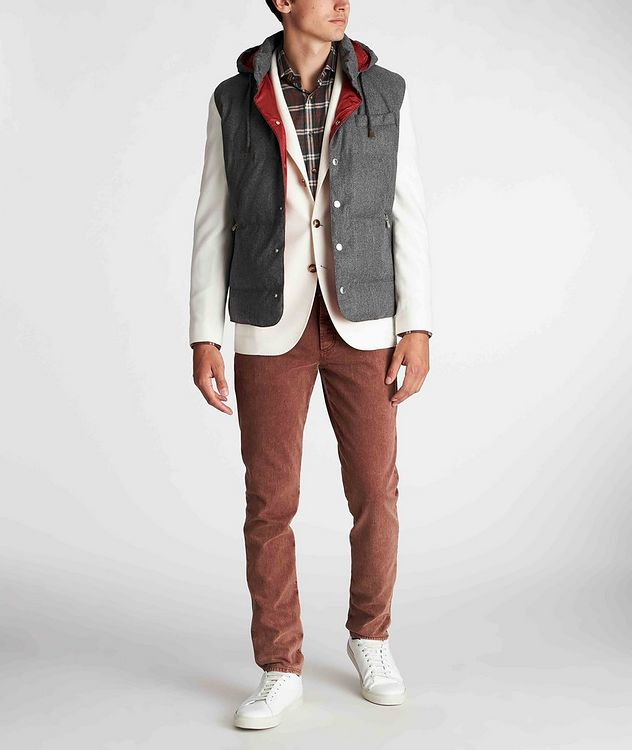 Unstructured Wool-Cashmere Sports Jacket picture 5